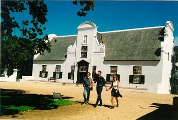 Click for a larger image of: Groot Constantia Manor House